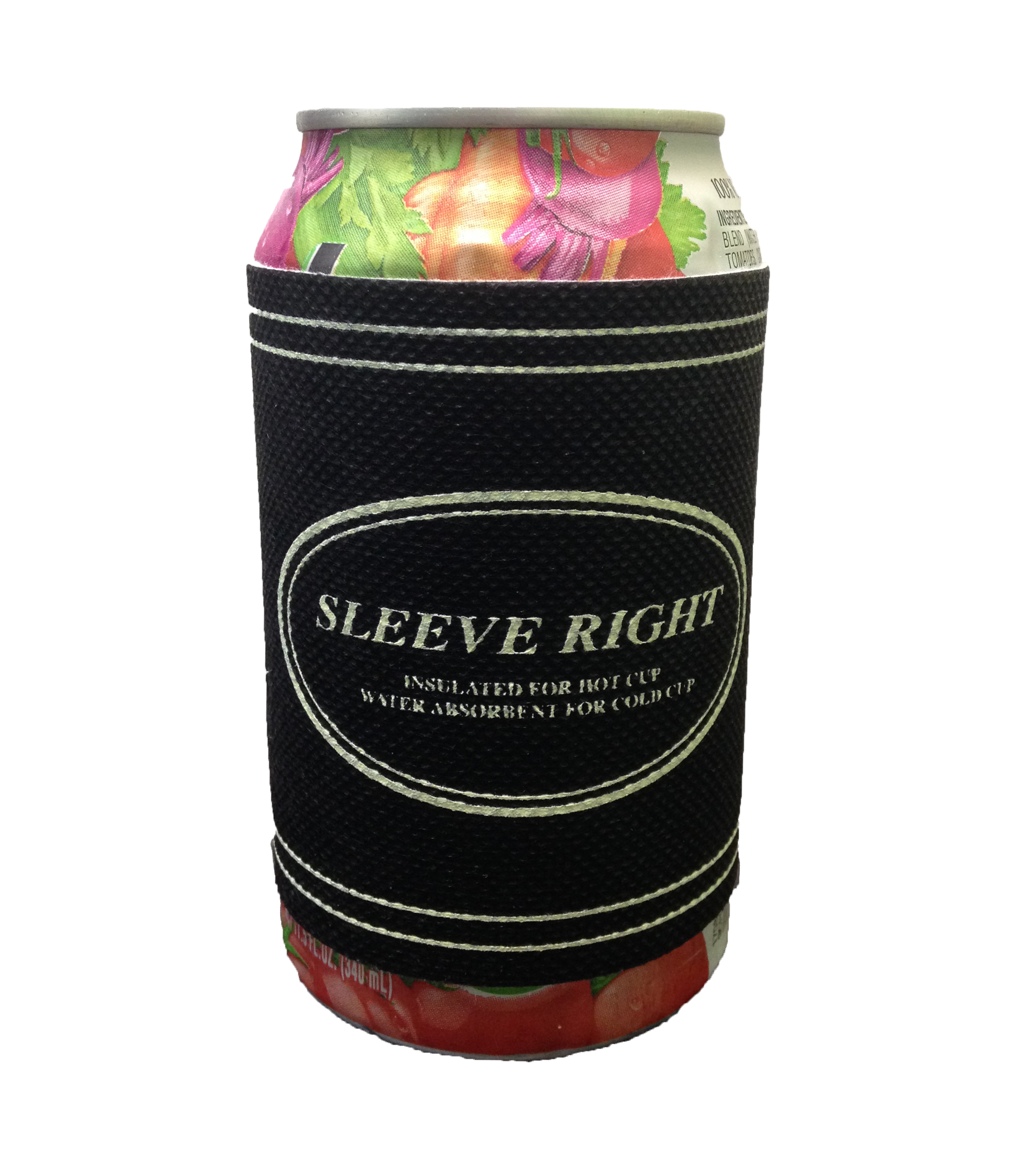 Insulated sleeves for cans and bottles