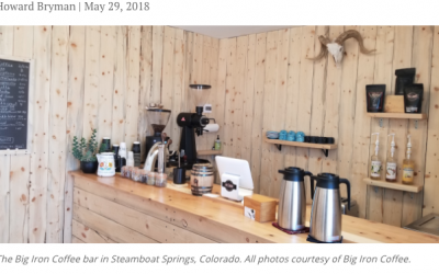 Now Roasting in the Rockies: Big Iron Coffee Shop