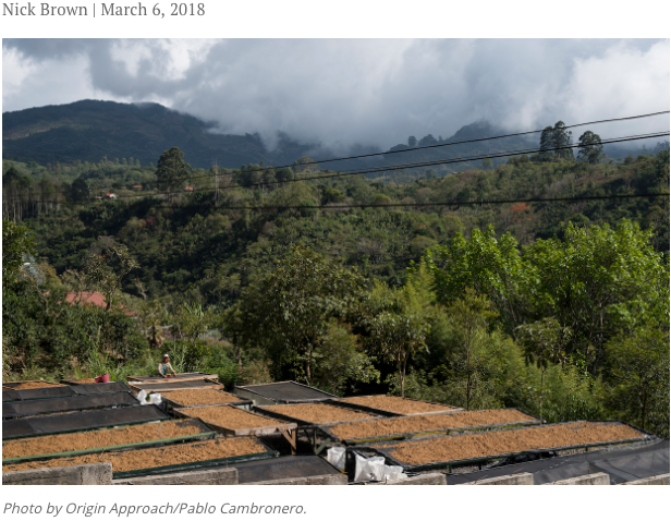 Costa Rica and their Coffee Landscape